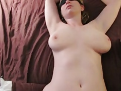 Inexperienced wifey fucked hard by stranger