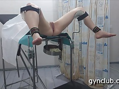 Episod-9   Exam woman on a gynecological chair
