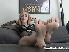 Kate England makes you gargle her toes