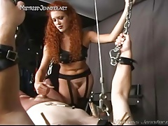 Dominatrix Sabrina Fox  Female dominance  haired Amazon