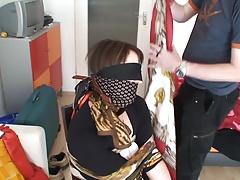 Scarf bondage-Katarina