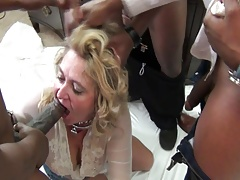 Art Hammer's White Trash Cockslut  Boned