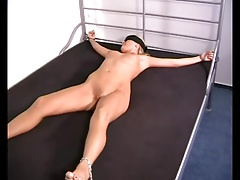 Girlfriend in X-Bondage