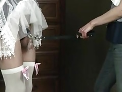 Chastised hubby maid abjected and tantalized