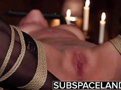Sadism & masochism -  tied up and fucked in raunchy sexual pleasure
