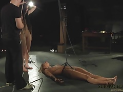 LIVE Bondage & discipline Harsh penalty and horny  three-way penetrate
