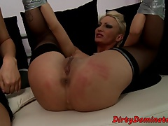 Bigass eurobabe predominated and frigged