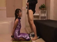 Chinese femdom Asuka domination & submission  and shoe fetish CFNM