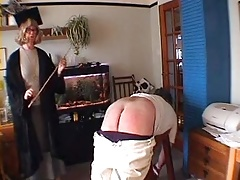 headmistress caning roger