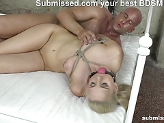 Trussed up Katy is getting fucked  on Submissed.com