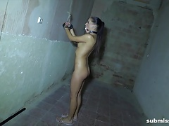 Smokin  Eveline Dellai tied and fucked truly really rock-hard