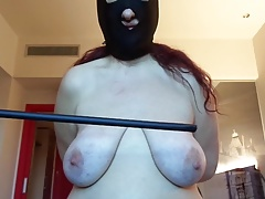Session November 2017: udders punishment, 50 strokes