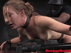 Display bonded sexslave facefucked in IR 3
