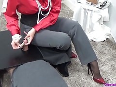 Female dominance Cock and ball torture Ejaculation