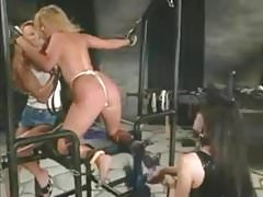 P.J. Sparxxx bound up, whipped, and pounded with strap-on