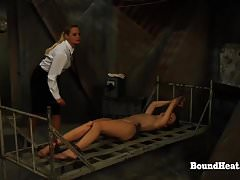 No Escape 2: Teenager Watch Her Sista In  Restrain bondage