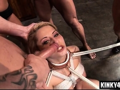 Warm porn industry star bdsm with cumshot