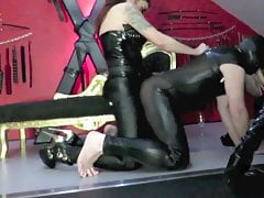 Domme No.1 Double female dominance pegging