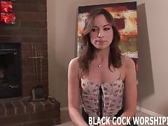 I am going to  myself to a huge dark-hued cock