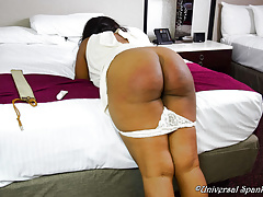 Her Relationship with the Strap - Spanking)