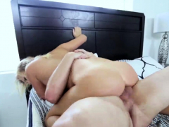 Teenager gags on cock Disobeying Father