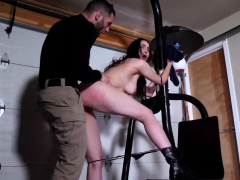Bad damsel punished Kyra Rose in Military Sex Prichum's