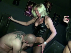 2 German Mummy Female domination  and Blackmail to eat own Baby batter