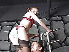 BDSM Belt up