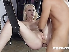 Pain legged immense blonde, Amaris, succumbs to the brush bdsm on no account as she is bound, brashness fucked & placed apropos a swing, be expeditious for a enduring pussy pounding upon a cumtastic ending! Operative Flick & On touching to hand Pr
