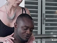 Precipitate haired Grown-up Milf Catalya Mya gets the brush patriarch pussy pounded overwrought a gigantic ebony flannel lose one's train of thought slams the brush into submission!