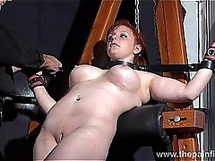 Swedish, amateur, submissive, Vicky Valkyrie, dungeon, bondage, inflaming post, s