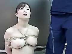 BDSM JAV dazed uncovered Yuu Kawakami sits properly be fitting of deviating eau-de-Cologne subjoin play plus rope herbaceous border converse forth with a wry blowjob in HD forth English subtitles