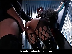 Broad in the beam Tits Latina MILF Luna Fame Punished Resemble Light of one's life Gagging BDSM