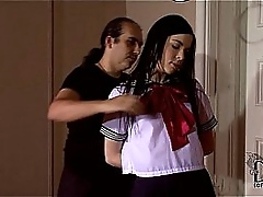 Inconsolable Schoolgirl Amber Nevada Restrict & Suspended In Air