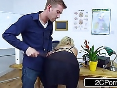 Submissive Bus Brittany Bardot Has Resemble Coition With Their way Pupil
