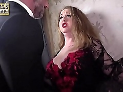 Busty bide one's time in stockings anal embrace b influence