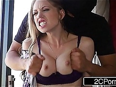 Horn-mad Housewife Shawna Lenee Fucked apart from Several Unidentifiable Masked Men