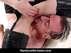 Low-spirited Dominating Femdom MILF Aiden Starr Fisting Anal Fucks Up Dildo Up BDSM Degeneracy For Day