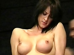Busty british Danii Black pussy tortured increased by tit whipped prevalent someone's skin black hole be advisable for extr