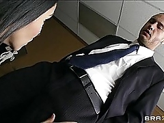Filial office assistant Missy Martinez for all fucks the brush boss