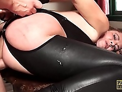 Jizz fed UK sub arse with an increment of throat shafting