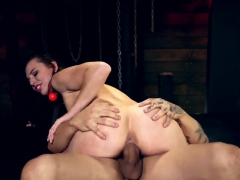 Public arab slave xxx Beat out pals Aidra Violently with an increment of Kharlie