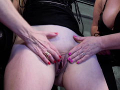 Frenzy BDSM Two sweltering lesbians and tying