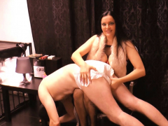 german bdsm good-luck piece domina birch slave