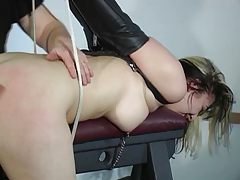 Fuckslut roped and