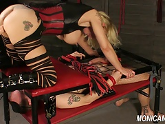 Moist and messy female domination from MonicaMilf - Norwegian face-sitting