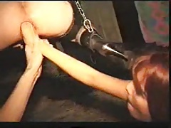 Corded up going knuckle deep DMvideos