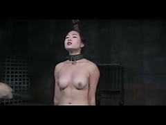Titty Lashing a Chinese-American M