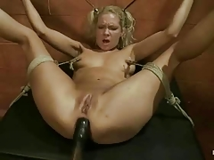 Roped Girl Vibred And