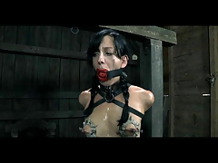 Domination & submission Marionette Elise Graves Chained Flagellated and Electro Tormented